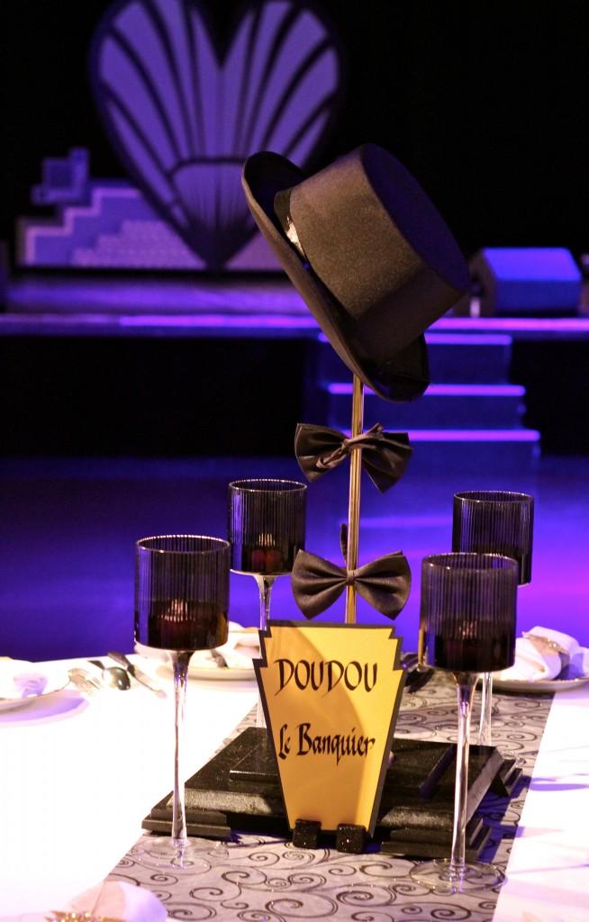 """Centre de table """"porte-chapeau"""" création originale"""