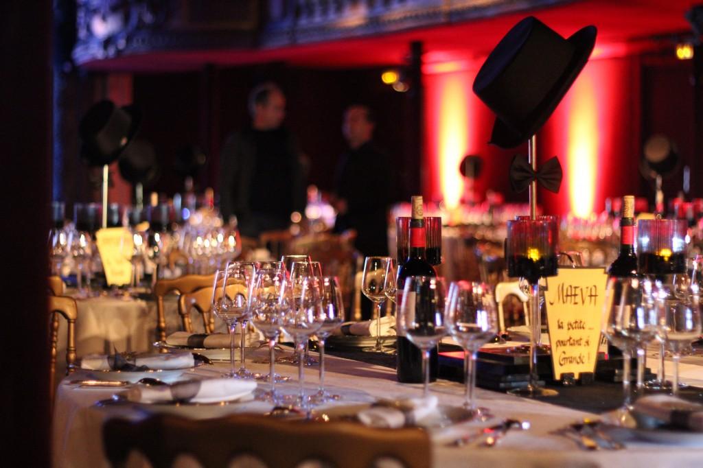 Tables d'invités
