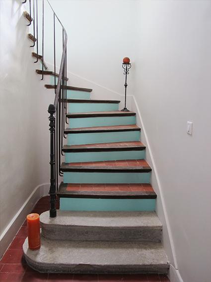 3.gîte_excalier