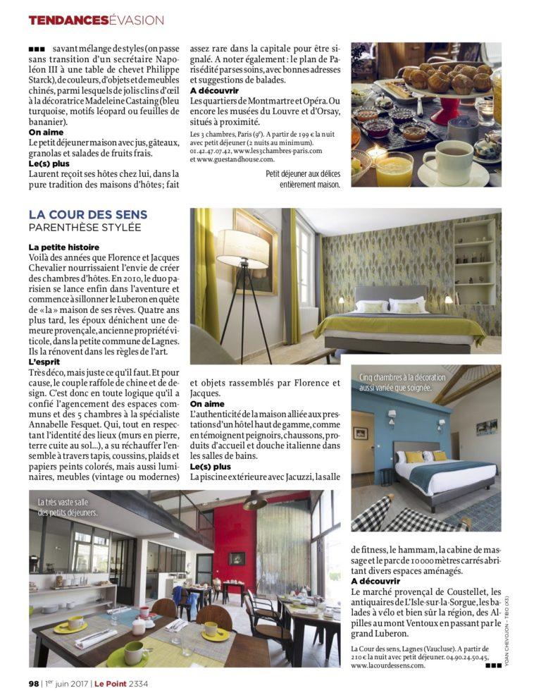 LE POINT - Chambres d'hôtes 2017_3